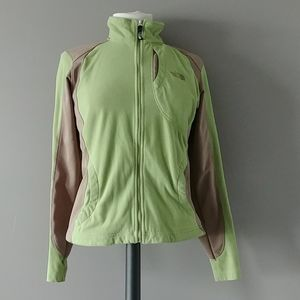 The North Face fleece hiking jacket